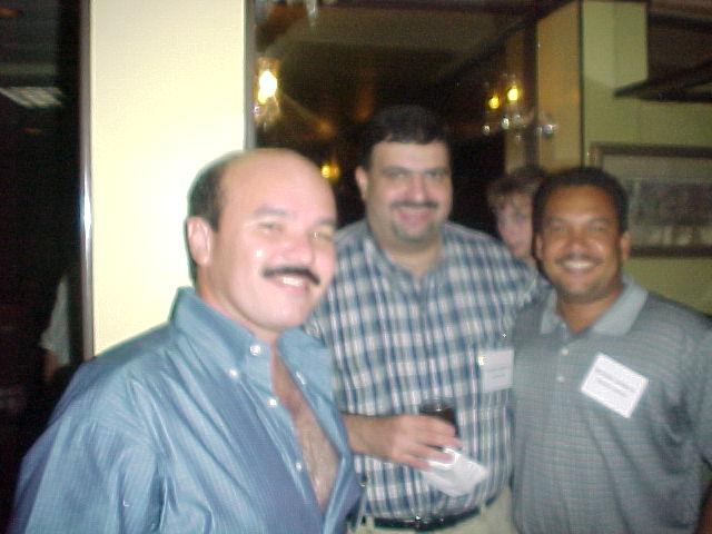 Rubert, Gadea y Nachy. Foto cortesia de Paxie.