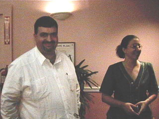 Gadea y Ana.  Foto cortesia de B. Becerril.