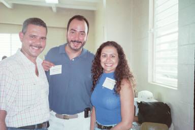 Jose Ruiz, Gerry y Keyla.   Foto cortesia de Jose.