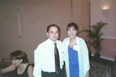 Wanda Bonilla y Jose.  Foto cortesia de Jose.